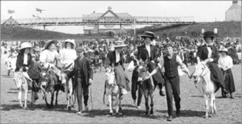 Barry Island, Donkey Rides 1910, 62563x