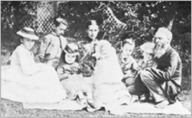 Francis Frith and his Family c1875.