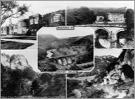 """""""Dovedale, Composite Postcard c1955, D145001."""