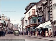 """Merthyr Tydfil, Upper High Street c1955, M118012T."