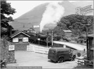 Silecroft, The Railway Station c1955, S657018.