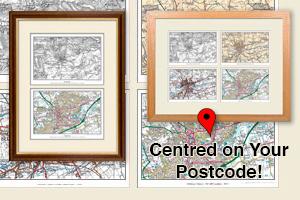 Postcode Centred Maps