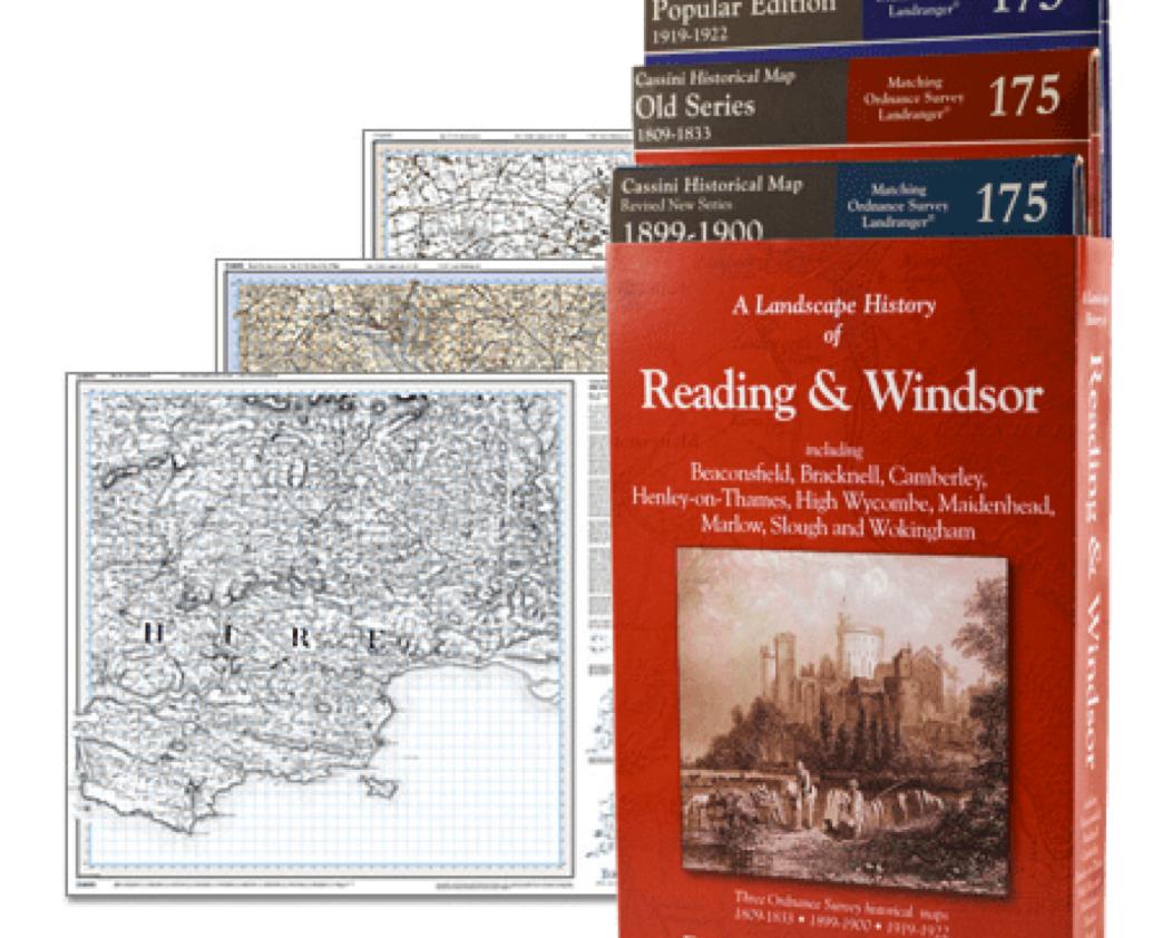 3-Map Boxed Sets Folded Sheet Maps