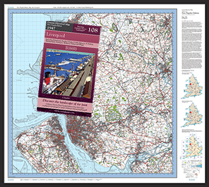 New Popular Edition Folded Sheet Maps