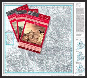 Old Edition Folded Sheet Maps