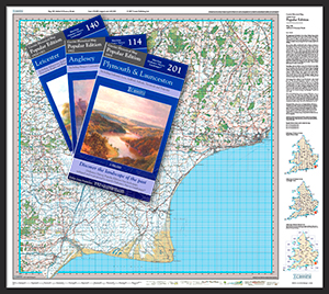 Popular Edition Folded Sheet Maps