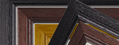 New solid-wood classic frames: Black, Antique & Mahogany
