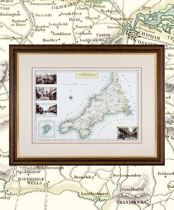 Victorian County Maps
