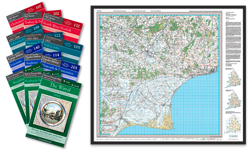 Handy maps offer fascinating insight into the history of a local area at a great price.