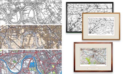Ordnance Survey Maps