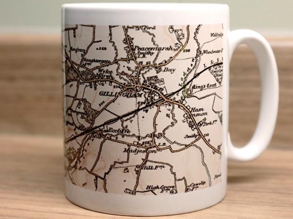 Map Mugs